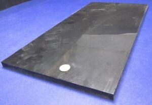 "Polyethylene HDPE Sheet White .750/"" 3//4/"" Thick x 24/"" Wide x 48/"" Length"