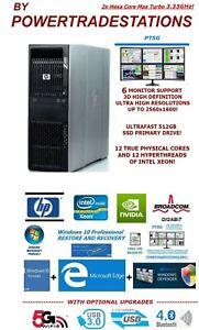 XFAST-HP-Z600-Trading-Computer-6Monitor-MaxTurbo-3-33GHz-512SSD-2TBHDD-48GBRAM