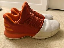 1 Basketball Shoes  Men's  BW0547 Red//White Multi Size Adidas James Harden Vol
