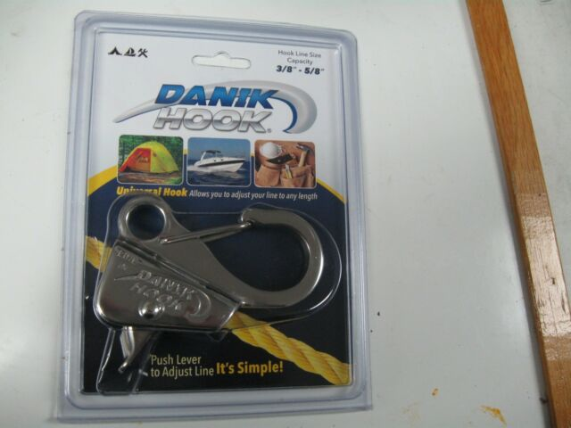 Easy to Use Danik-Hook Stainless Steel Knotless Anchor System