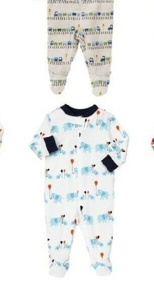 Gymboree baby boys slip n Play footed up to 5lb NB new too choose 5-9 LB