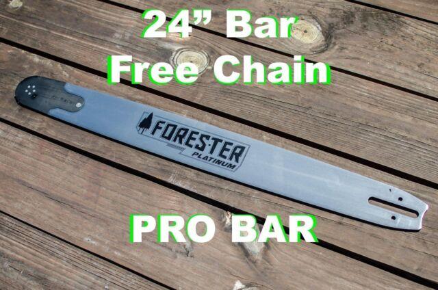 """Fits Husqvarna saws 24/"""" Chainsaw Professional Bar 3//8 x .050 x 84 drive links"""