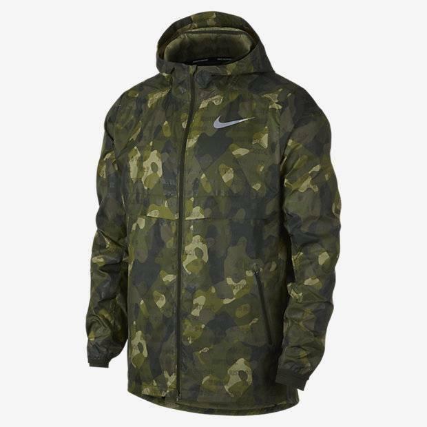 Sizes M /&  L AH5987 355 Nike Shield Ghost Flash Running Jacket