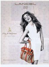PUBLICITE ADVERTISING 114 2011 LANCEL le Daligramme créé par Dali pour Gala 1