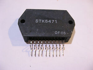 Sanyo-STK5471-Multi-Voltage-Regulator-IC-NOS-Qty-1