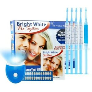 New Bright White Professional Teeth Whitening Gel Kit 15ml