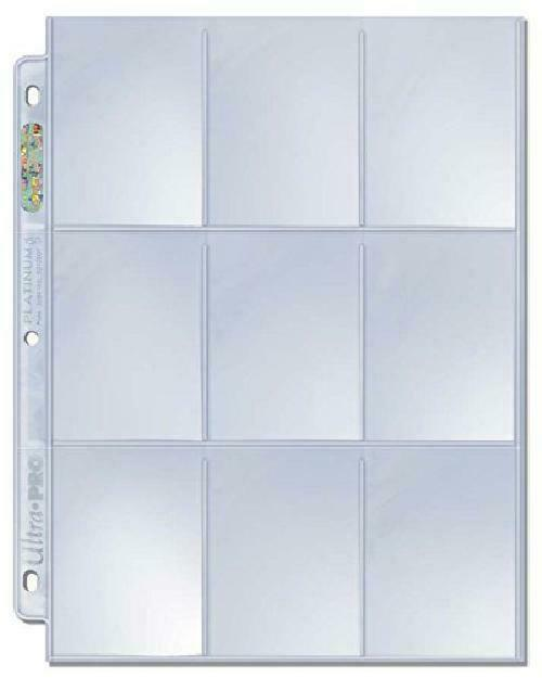 100pc Ultra Pro 9 Pocket Trading Card Display Binder Cover