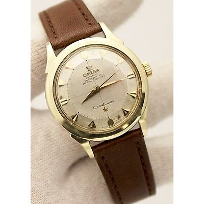 Vintage Omega Constellation Pie-Pan Automatic Gold Plated 35mm Cal.505 60s Watch