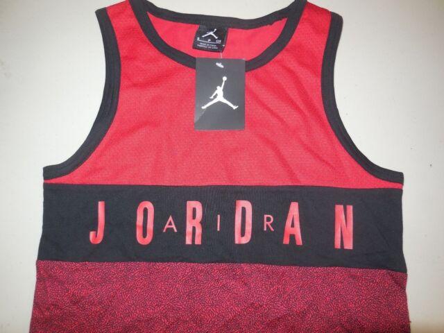 50b055b255ce3 Nike Michael Air Jordan Tank Top Shirt NEW NWT Athletic Basketball Youth  Boy s S