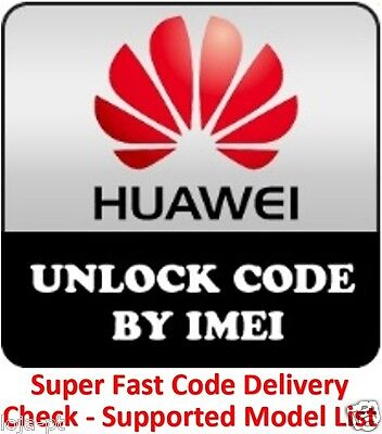 Huawei B593 Router Unlock Code Any Carrier / Another model supported check list