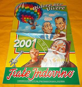 Calendario Frate Indovino Ebay.Dettagli Su Frate Indovino Calendario Anno 2001 Ridere Per Vivere