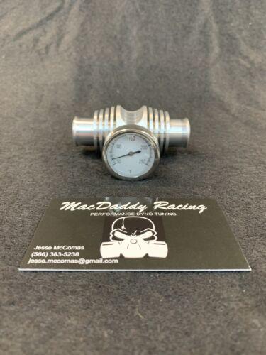 MacDaddy Racing KFX 400 Billet Coolant Temperature Gauge Radiator