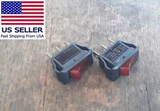 33E05-0535-CO513 Black 3 Prong Heater Toggle Switch Twin Star Fireplace Model