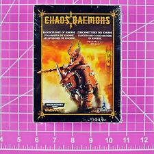Warhammer 40000 age of sigmar daemon bloodcrushers of khorne retail sale