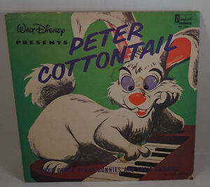 Walt Disney Peter Cottontail Lp Vinyl Record Album Ebay
