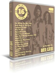 16-Midi-Files-In-The-Style-Of-BEE-GEES-Pendrive-USB-Escucha-Listen-Demos