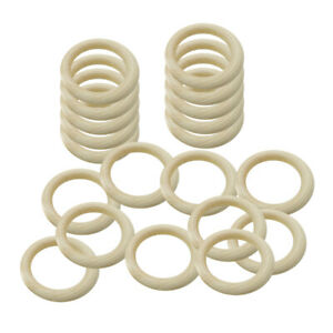 65//35mm Natural Wood Rings Unfinished Wooden Rings DIY Maple Teething Ring Craft