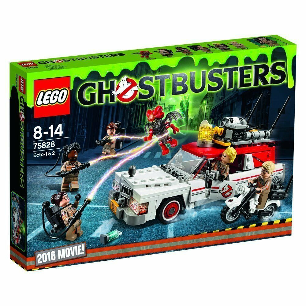 LEGO ® Ghostbusters ™ 75828 ECTO - 1 & 2 NEUF NEW OVP MISB
