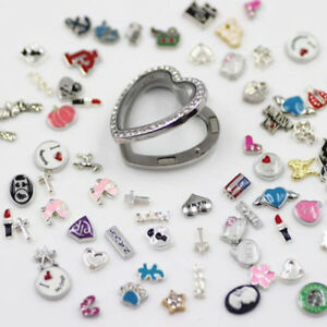 Pack-of-20-Multi-colored-Mini-Enamel-Metal-Floating-Charms-Mixed-Jewelry-Crafts
