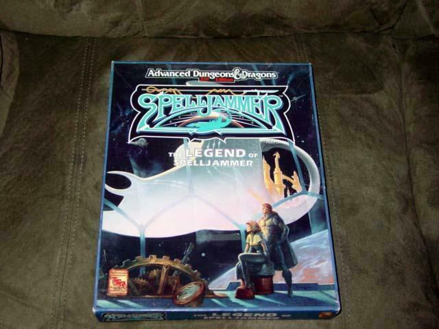 TSR AD&D Advanced Dungeons Dragons   SpellJammer - The Legend of SpellJammer