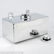 2 Ltr Polished Alloy Water Injection Tank / Washer Bottle with Billet Cap