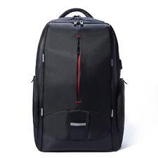 17.3 inch Laptop Backpack with USB Port Lightweight Travel Rucksack Unisex Bag