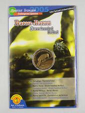 """Malaysia 25 sen 2005 /""""Endangered Species Asian Fairy Bluebird/"""" UNC Coin Card"""