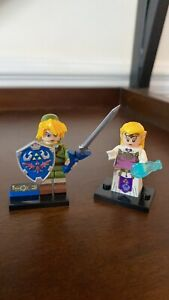The-Legend-Of-Zelda-And-Link-Lego-Compatible-Model-MiniFigure-Fast-Shipment