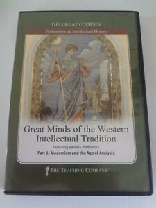 The Great Courses Great Minds Of The Western Intellectual Tradition Part 6 DVD