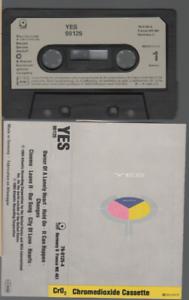 Yes 90125 Cassette K7 Tape German / French Pressing 79-0125-4