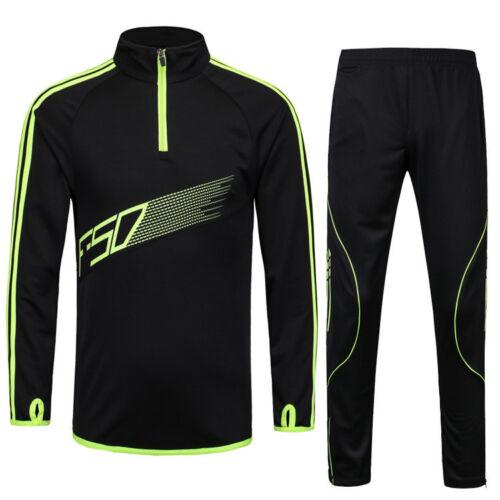 Tracksuits Men Kids Football Kits Soccer Jerseys Set Boys Football Training Suit