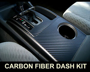 Fits Ford F 150 04 08 Carbon Fiber Interior Dashboard Dash Trim Kit Parts Free S Ebay