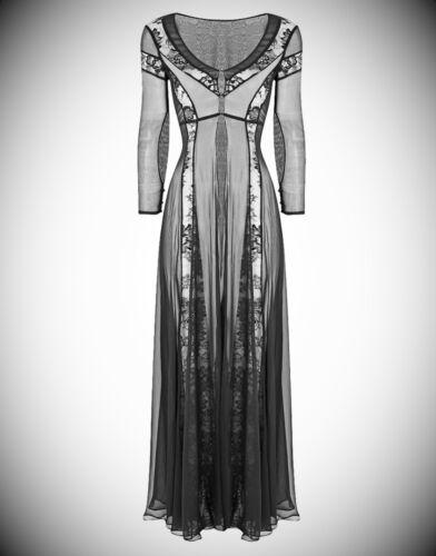Agent Provocateur Soiree Damira Gown Black Size Medium Uk10 12 Bnwt Rrp £1999.99 by Agent Provocateur