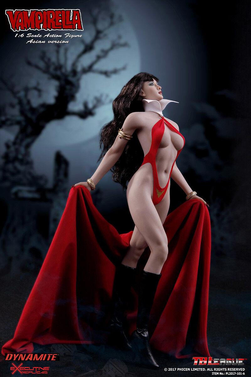 1/6 TBLeague PL2017-101-A Vampirella Asian version Action Figure