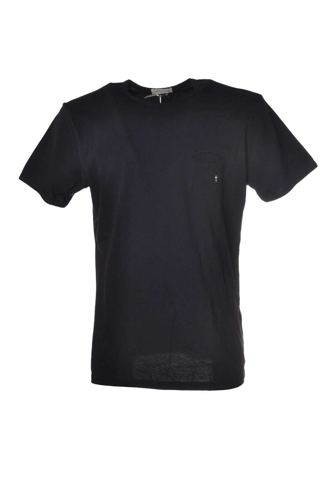 Daniele Alessandrini - Topwear-T-shirts - Mann - blue - 5626107C195011