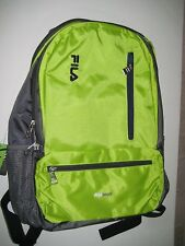 FILA Nexus 5 Pocket School Laptop Tablet Backpack Lime for sale ...