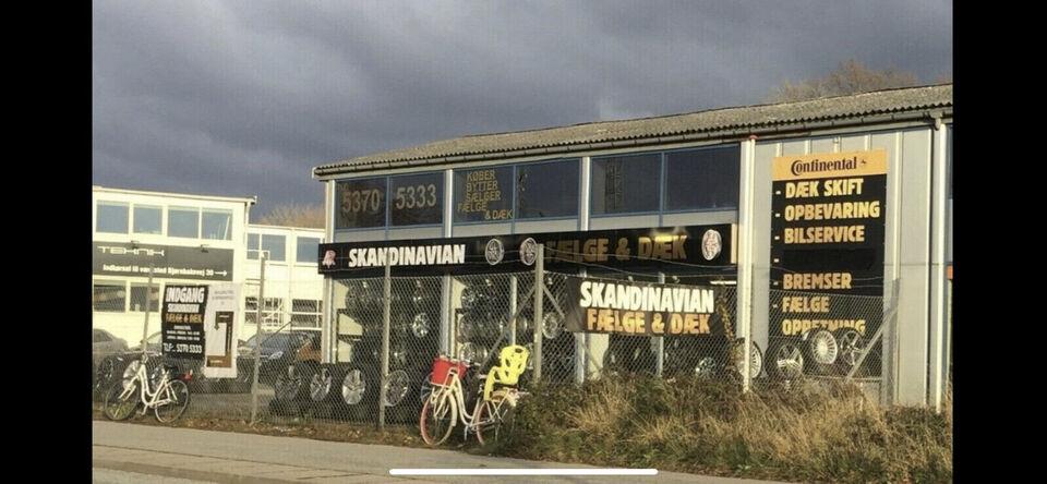 """Ny 18"""" Alufælge 5x112 Ny Dæk"""