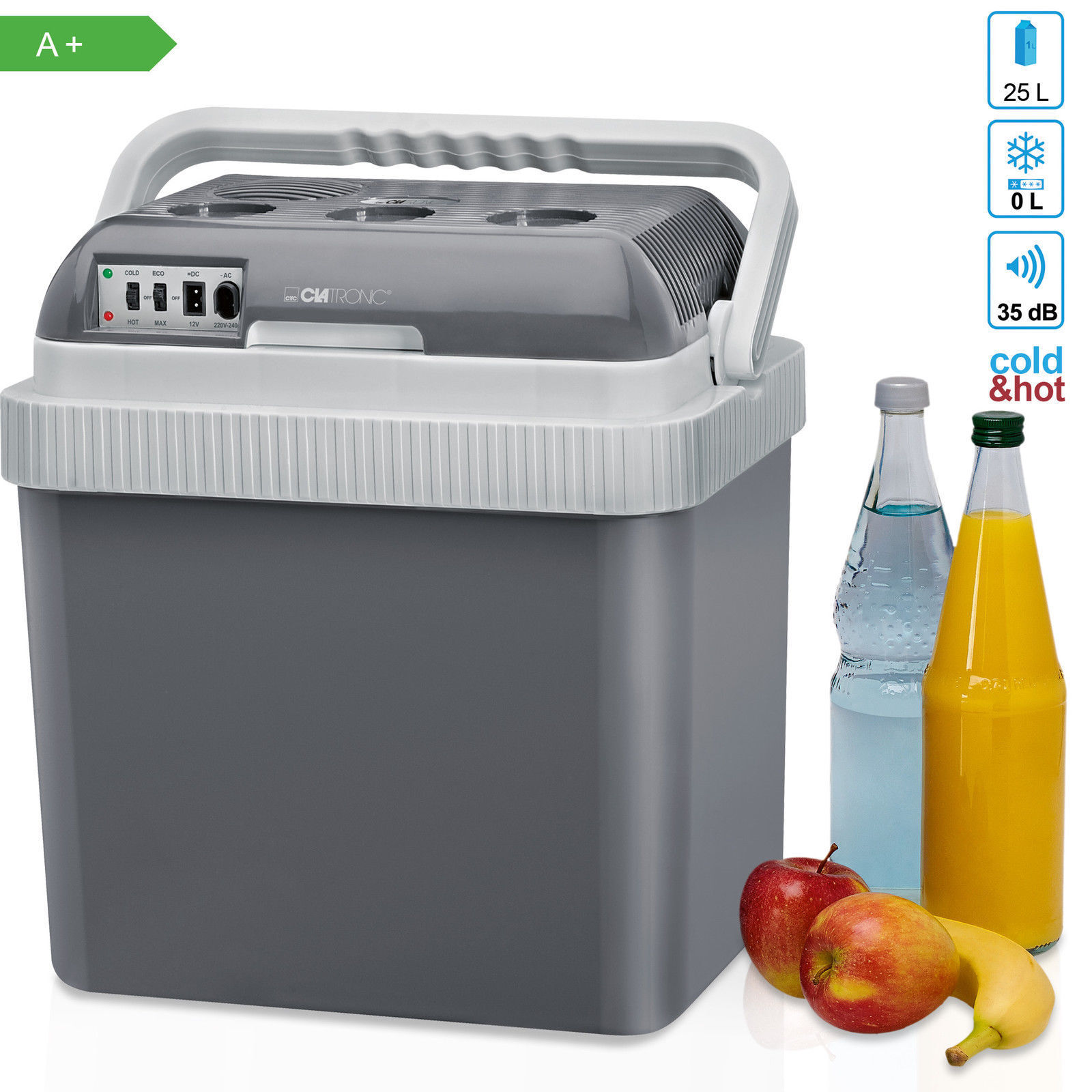 Fridge Electric Portable  car camping travel 845.4oz heat and cold 12V 220V NEW  gorgeous