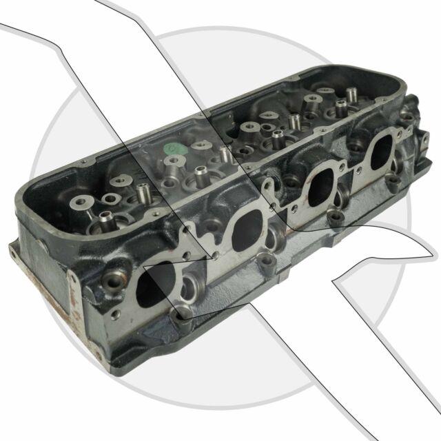 Mercruiser 500 Bulldog 502ci Big Block V8 OE Cylinder Head Set 14097088