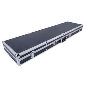 "53"" Long Aluminum Rifle Gun Case Cipher Lock Shotgun Storage Safe Box Carry Case"