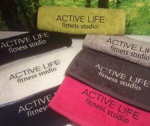Embroidered Towels for Gyms, Bana Kuru Gym/Sweat/Spor<wbr/>ts Towels, Company Logos