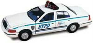 1:43 SCALE POLICE CAR REPLICAS by Gearbox Various Designs Limited Edition