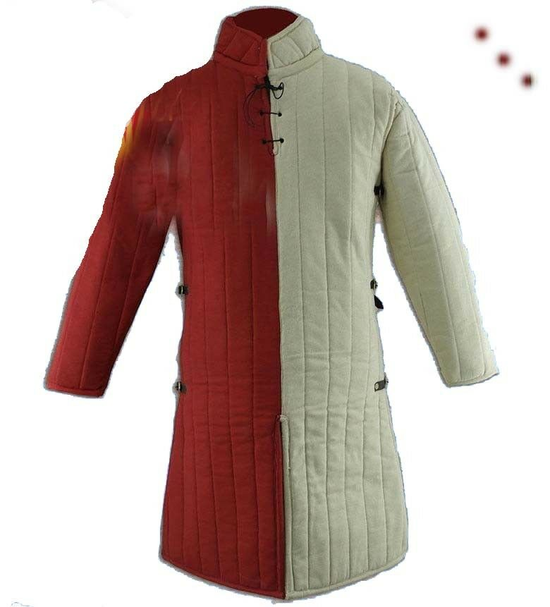 NEW GIFT Medieval-Gambeson-Thick-padded-Jacket-COSTUMES-DRESS w