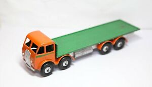 Dinky-503-Foden-Type-1-Flat-Truck-Nice-Vintage-Model-Meccano-Overpainted