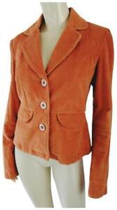 Tulle-Anthropologie-Blazer-M-Womens-Cotton-Spandex-Stretch-Corduroy-Unlined