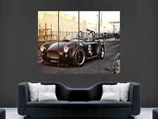 FORD SHELBY AC COBRA CLASSIC CAR  ART WALL LARGE IMAGE GIANT POSTER