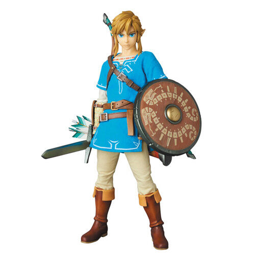 LEGEND OF ZELDA Breath of the Wild Link 1 6 Action Figure 12  RAH N.764 Medicom