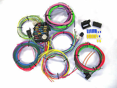 gearhead 1967 1968 pontiac firebird complete wire harness wiring kit usa |  ebay  ebay