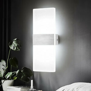 6W-LED-Wall-Light-Day-Whte-Bedroom-Indoor-Corridor-Night-Lamp-Sconce-Lights-New