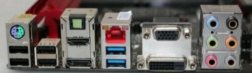 OEM I//O Shield For MSI B85M GAMING Motherboard Backplate IO